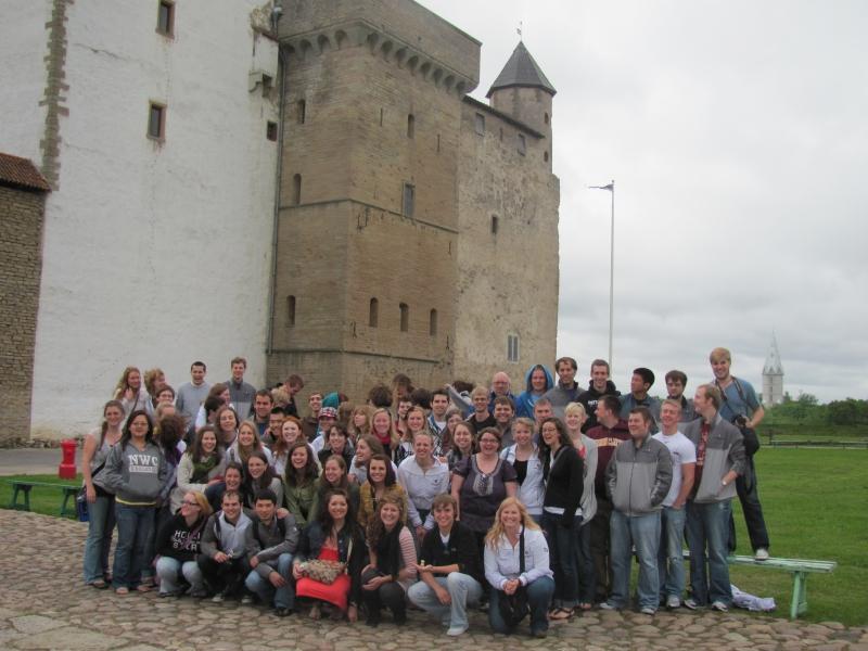 Narva Castle - Northwestern College Choir 2010