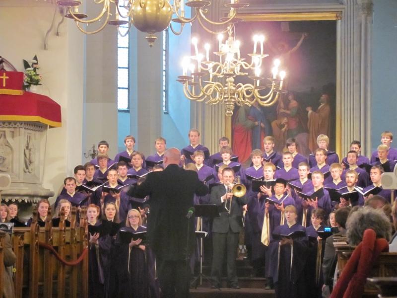 Tallinn - St. Olavs Church - Northwestern College Choir 2010