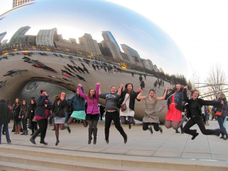 Chicago - Bean - Bartlesville HS jumping 2014