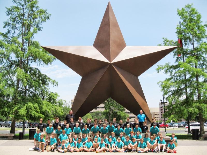 Austin - Bullock Texas State History Museum - MN Boychoir 2013