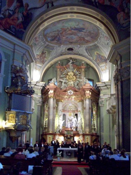 Budapest - St. Anna Church - Bexley HS 2009