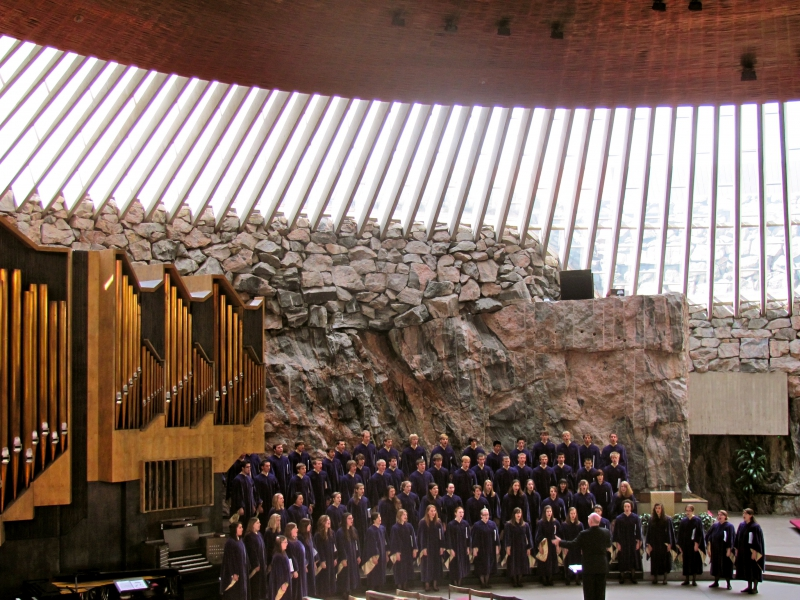 Helsinki - Rock Church - Northwestern College Choir 2010