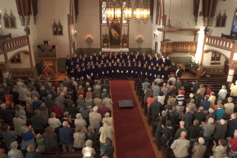 Hougesund - St. Olaf Choir 2013