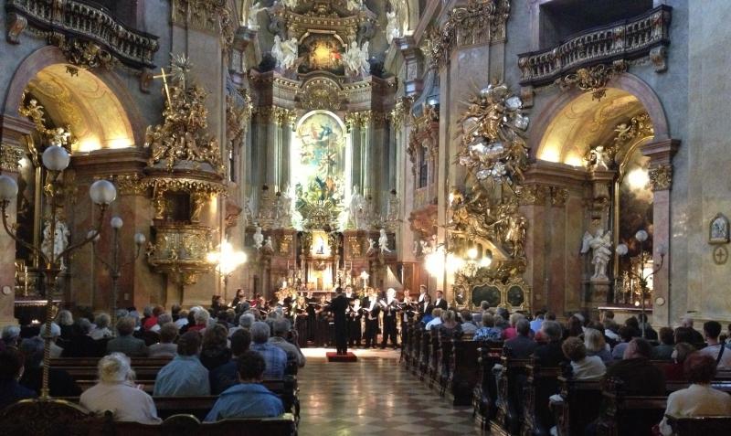 Vienna - St. Peter's - Gonzaga University Chamber Chorus 2013