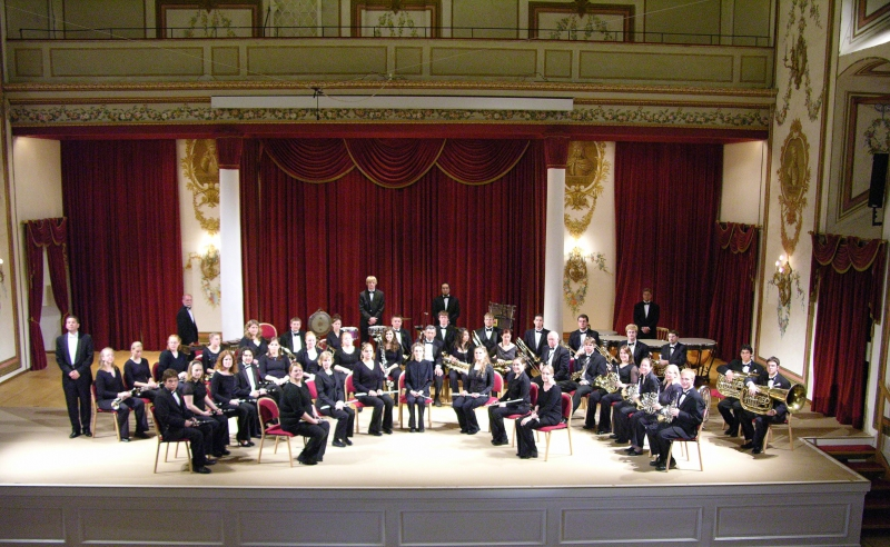 Esterhazy - Haydn Hall - Bemidji State University Wind Ensemble 2006