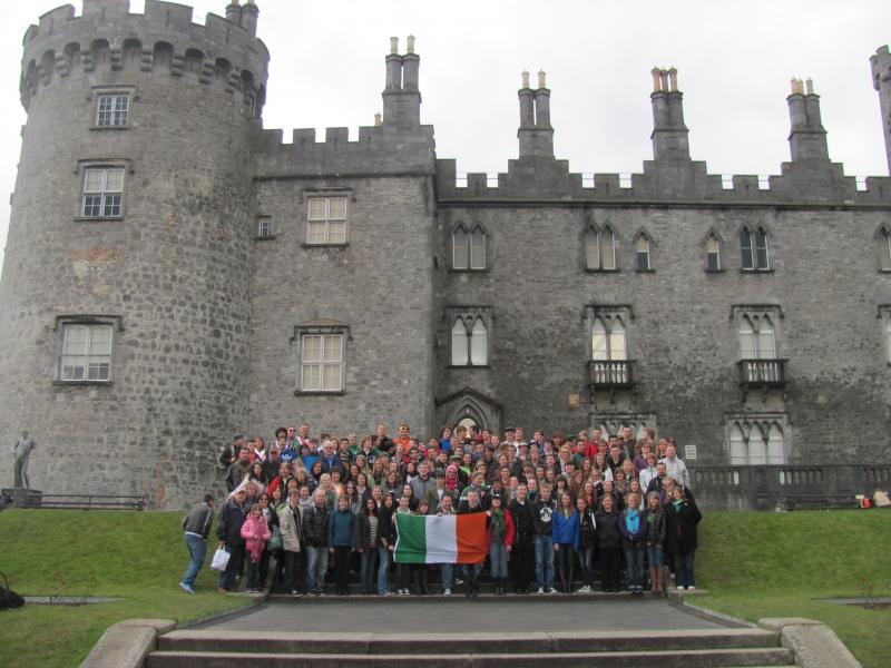 Kilkenny - Kilkenny Castle - Bartlesville HS Band 2013