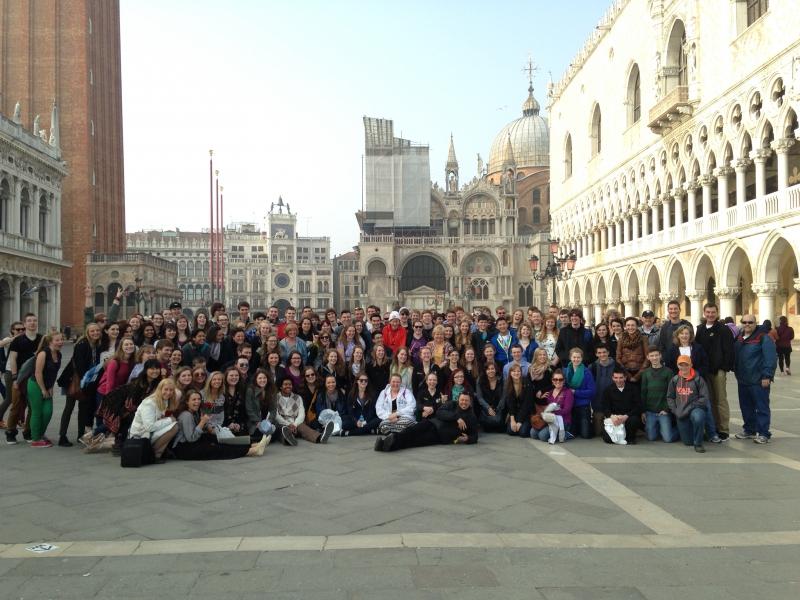 Venice - St. Mark's Square - Burnsville HS Band & Choir 2014