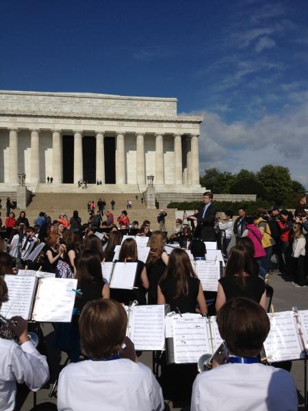 Washington DC - Lincoln Memorial - Liberty Park MS 2012