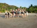 Costa Rica - Minnehaha Academy group jump