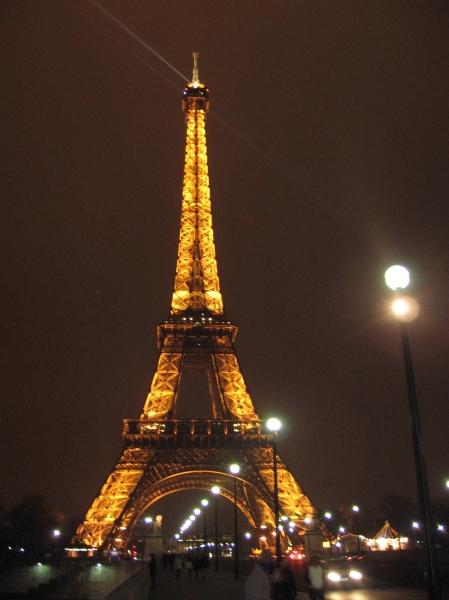 Paris - Eiffel Tower - 1