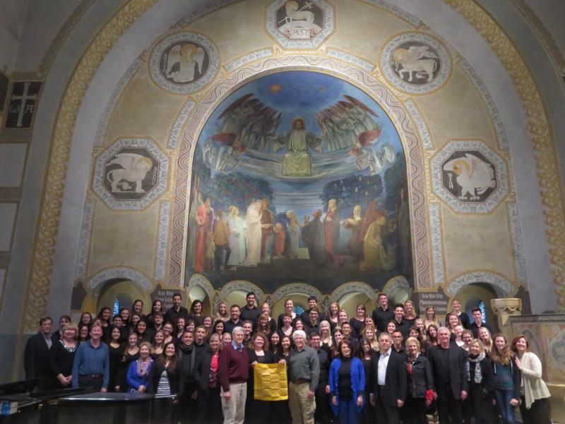 CLU Choir and Alumni Tour
