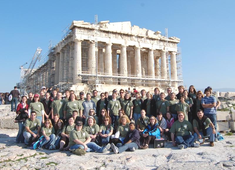 Parthenon - Concordia Univ Wisc Wind Ensemble 2008