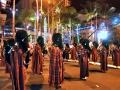 Waikiki Holiday Parade - Liberty HS standstill performance 2011