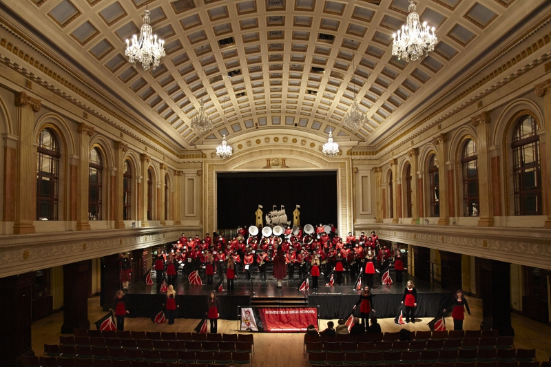 Cork City Hall - Homestead HS Marching Band 2013
