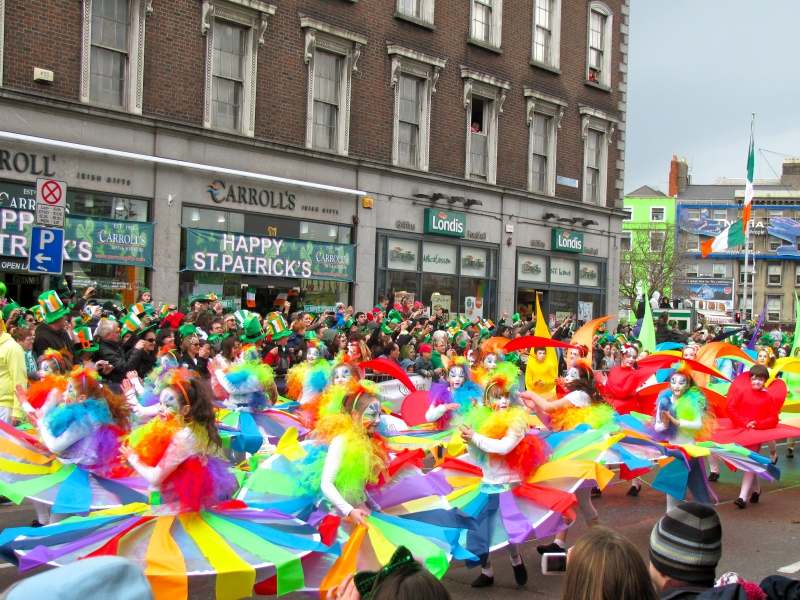 Dublin St. Patrick's Parade - Rainbow group