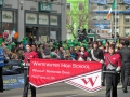 Dublin St. Patrick's Parade - Whitewater HS 2012