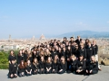 Florence - Piazzale Michelangelo - Edina HS Orchestra 2012