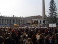 Rome New Year's Parade - Crowds in St. Peter's Square
