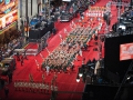 Hollywood Christmas Parade - Birds Eye View 2013