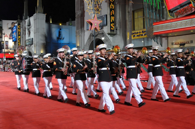Hollywood Christmas Parade - Marines