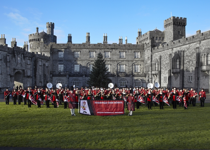 Kilkenny Castle - Homestead HS Marching Band 2013