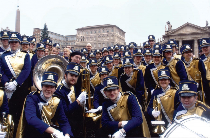 Rome New Year's Parade - University of Nebraska Kearney 2006