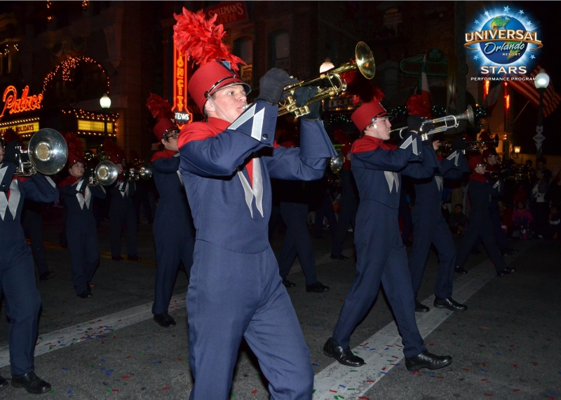 Universal Studios Macy's Holiday Parade - Woodland HS 2012