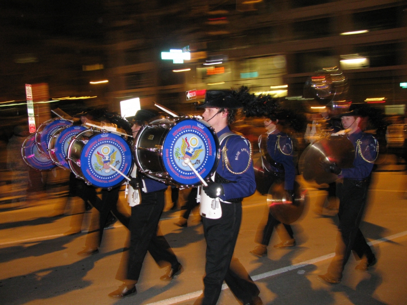 Washington DC - Inaugural Parade - Blue Springs HS 2009