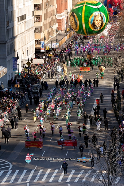 Macy's Thanksgiving Day Parade - Ooltewah HS 2013 - 2