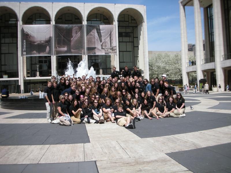 New York City - Lincoln Center - Maple Grove HS Choir 2007 - 2