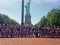 NYC - Liberty Island - New Ulm HS 2014