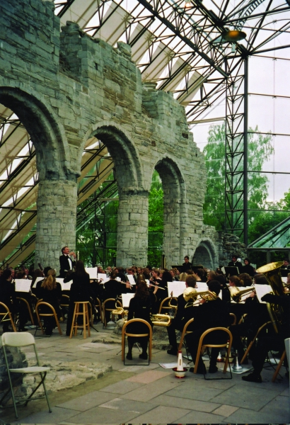 Hamar - Glass Cathedral - St. Olaf Band