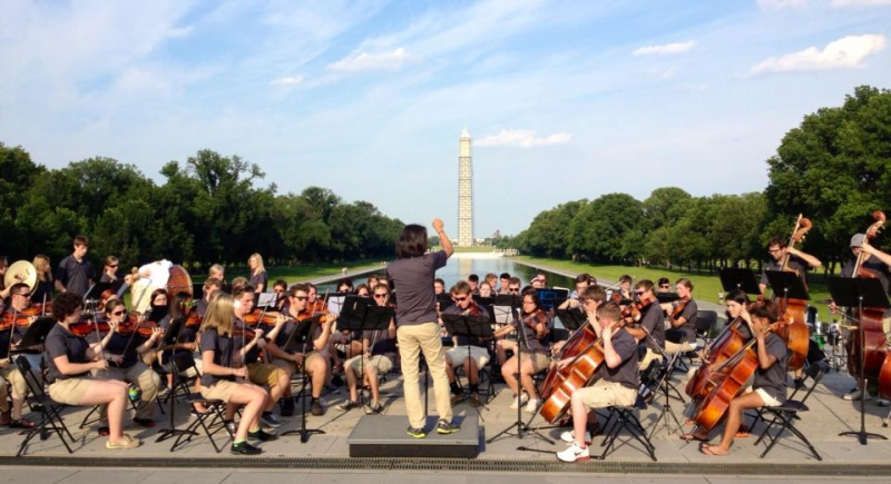 Washington-DC-Washington-Monument-Salina-Youth-Symphony-2013-panoramic