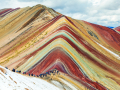 Rainbow mountains or Vinicunca Montana de Siete Colores