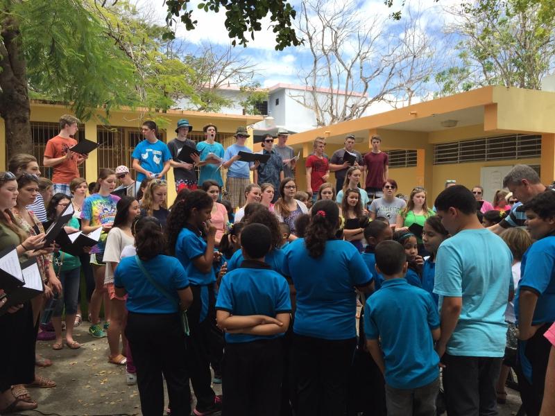 Guanica school exchange 2