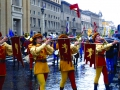 Rome New Year's Parade - Medieval European group