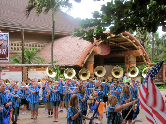 Polynesian Cultural Center - Timpview HS 2011
