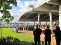 Pearl Harbor - USS Arizona - Carl Sandburg HS directors 2011