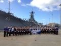 Pearl Harbor - USS Missouri - Danvers HS 2011