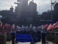 Pearl Harbor - USS Missouri - Grain Valley HS 2013