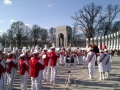 Washington DC - WWII Memorial - Bowling Green HS 2013