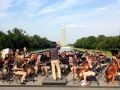 Washington DC - Washington Monument - Salina Youth Symphony 2013 panoramic
