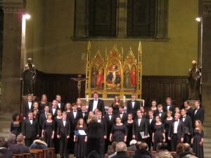 Florence - Santa Trinita - CUW Choir 2016