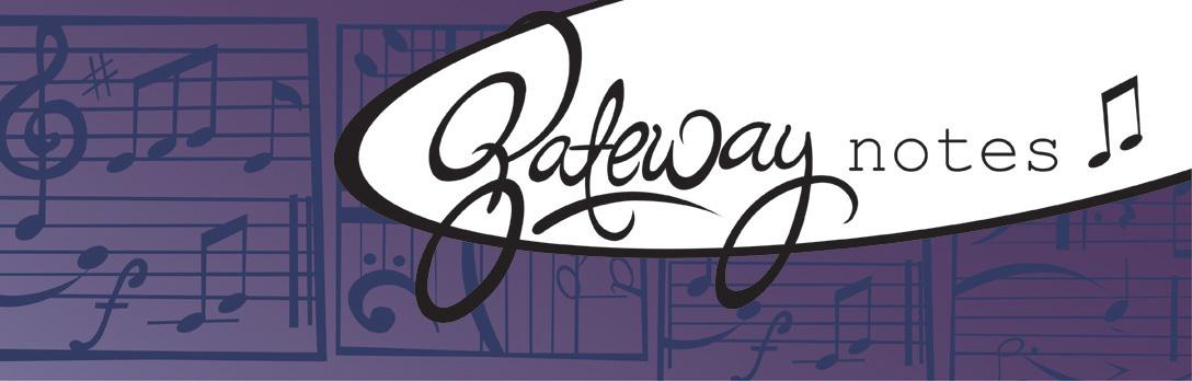 Gateway Notes Header