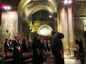 Mass at St. Mark's Basilica - CUW Choir 2016