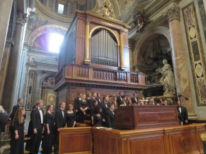 Mass at St. Peter's Basilica - CUW Choir 2016