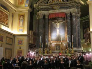 Rome - San Lorenzo in Lucina - CUW Choir 2016