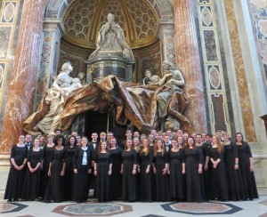 St. Peter's Basilica - CUW Choir 2016